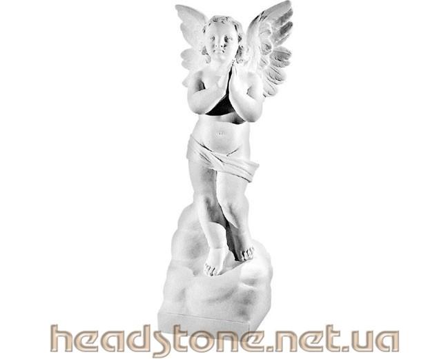 Скульптура Ангелочка на пам'ятник ,Ритуальна скульптура Ангела на пам'ятник,скульптура Ангела на пам'ятник