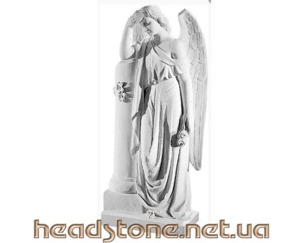 статуетки ангелів на пам'ятник,надгробні ангелочки на пам'ятник статуетки на пам'ятник, Ритуальна скульптура,
