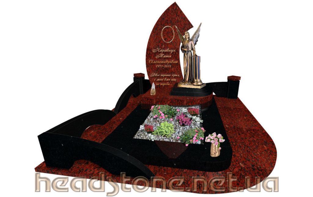 Виготовлення пам'ятника надмогильного Елітний Одинарний і пам'ятник гранітний Ексклюзивний На одного і пам'ятник з граніту класу люкс для жінки і пам'ятник надгробний VIP класу для чоловіка і 3Dмоделі пам'ятника