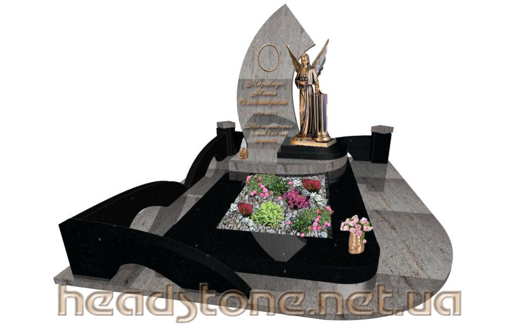 Виготовлення пам'ятника з граніту Елітний Одинарний і пам'ятник надгробний Ексклюзивний На одного і пам'ятник гранітний класу люкс для жінки і пам'ятник надмогильний VIP класу для чоловіка і 3д пам'ятник
