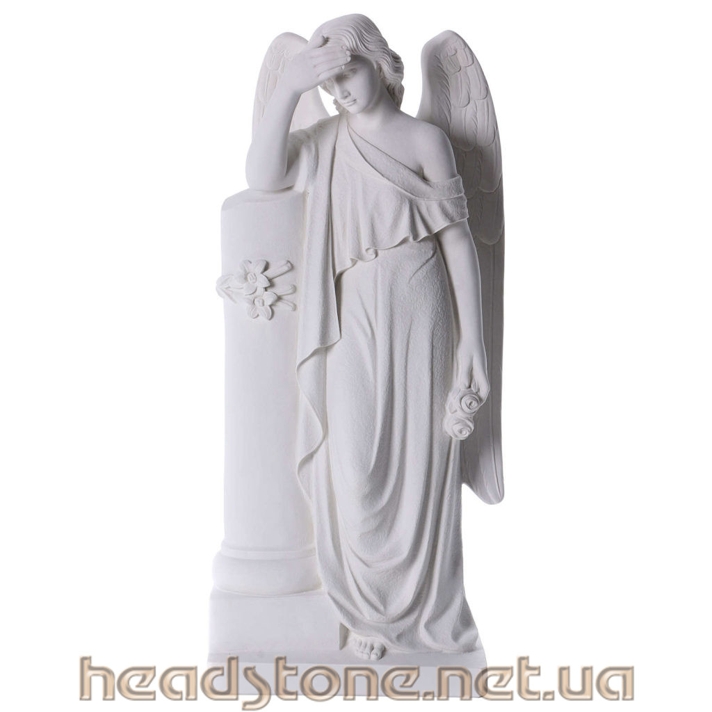 Скульптура з синтетичного мармуру,Скульптура Ангелочка на могилу,Скульптура Матері Божої на памятник,Скульптура Ангела на цвинтар