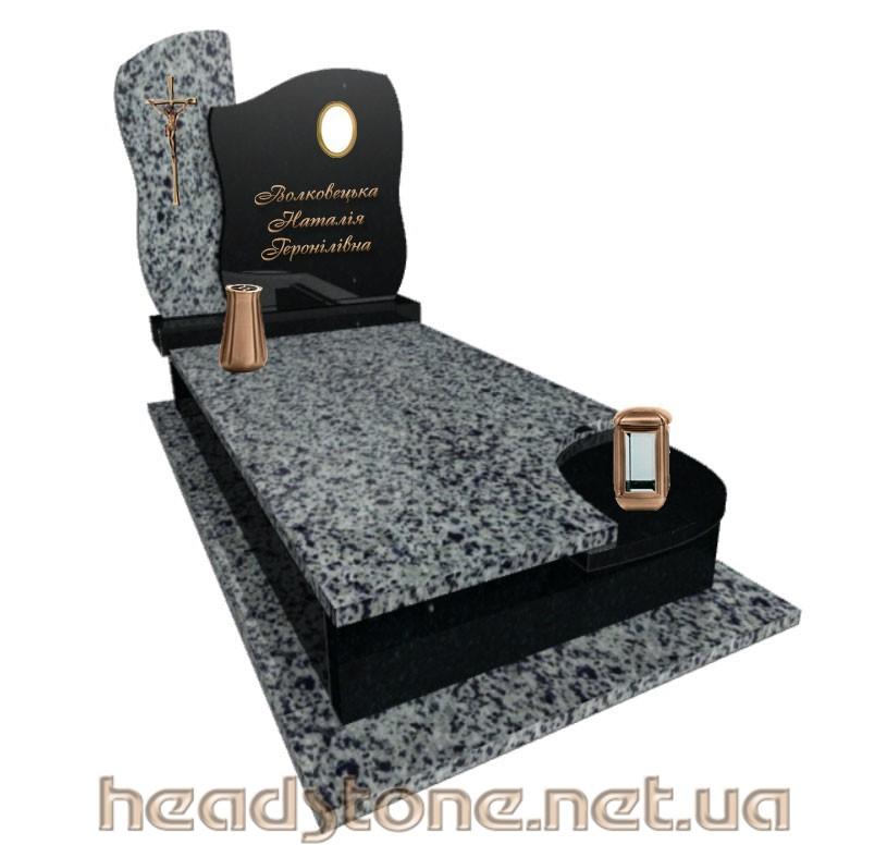 Пам'ятник з граніту виготовлення Львів одинарний,3Dмоделі памятника надмогильного,Бронзова фурнітура для пам'ятника гранітного,Ритуальна скульптура надмогильна