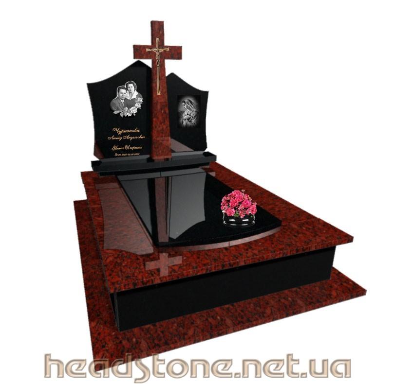 Где купити Львів пам'ятник надмогильний Ексклюзивний на одного з Ритуальний декор для гранітного памятника і 3д гранітний пам'ятник