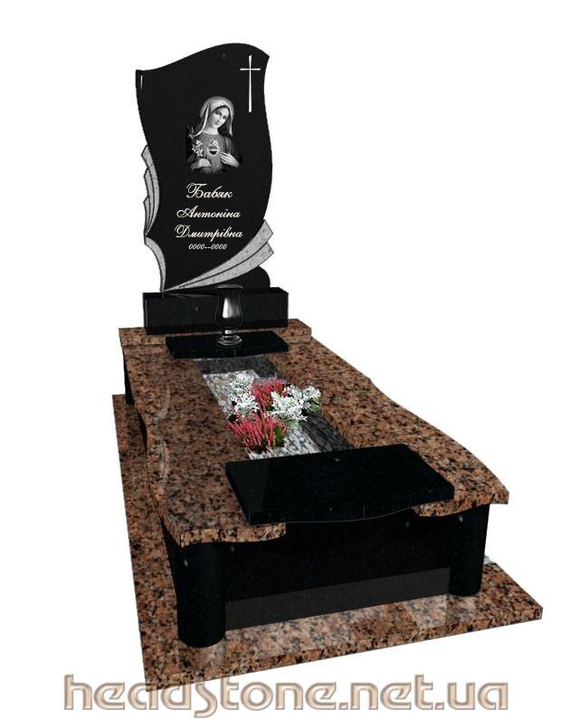Пам'ятник з граніту виготовлення Львів Елітний для молодої людини,3Dмоделі пам'ятника надмогильного,Накладний хрест на пам'ятник з граніту, Скульптури на могилу