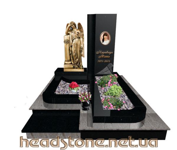 Виготовлення пам'ятника гранітного Елітний Одинарний і пам'ятник надмогильний Ексклюзивний На одного і пам'ятник надгробний класу люкс для жінки і пам'ятник з граніту VIP класу для чоловіка і 3Dмоделі пам'ятника