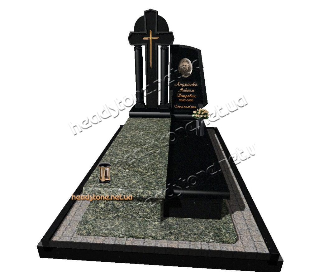 Виготовлення елітних памятників,елітні памятникичоловіку,надгробні памятники для тата,вишукані гранітні памятники, пам'ятник з хрестом на могилу,Хрест на могилу