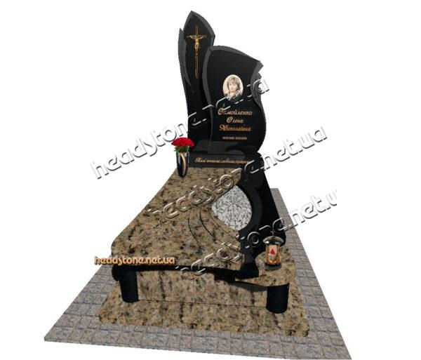 елітні пам'ятники гранітні,гранітні памятники від виробника,одинарний комбінований пам'ятник на могилу,одинарний комбінований памятник на могилу,памятник граніт