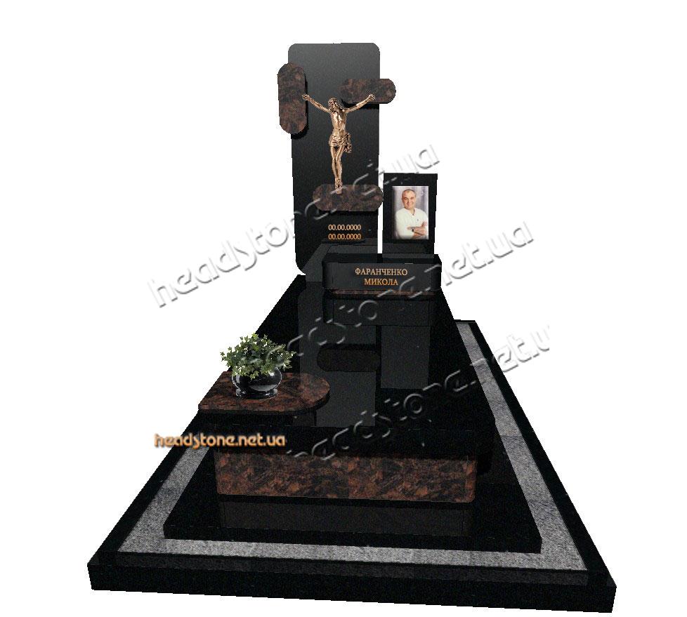 Виготовлення пам'ятників з граніту,дизайн памятників на могилу,Італійські памятники з граніту,Купити Елітні памятники,ексклюзивні памятники з хрест на могилу
