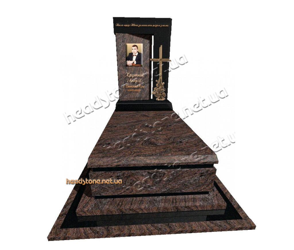 Вишуканий пам'ятник з іноземного граніту, виготовлення памятників з граніту,купити памятник з граніту,3d дизайн памятників на могилу, Італійські памятники з граніту, Памятники в італійському стилі
