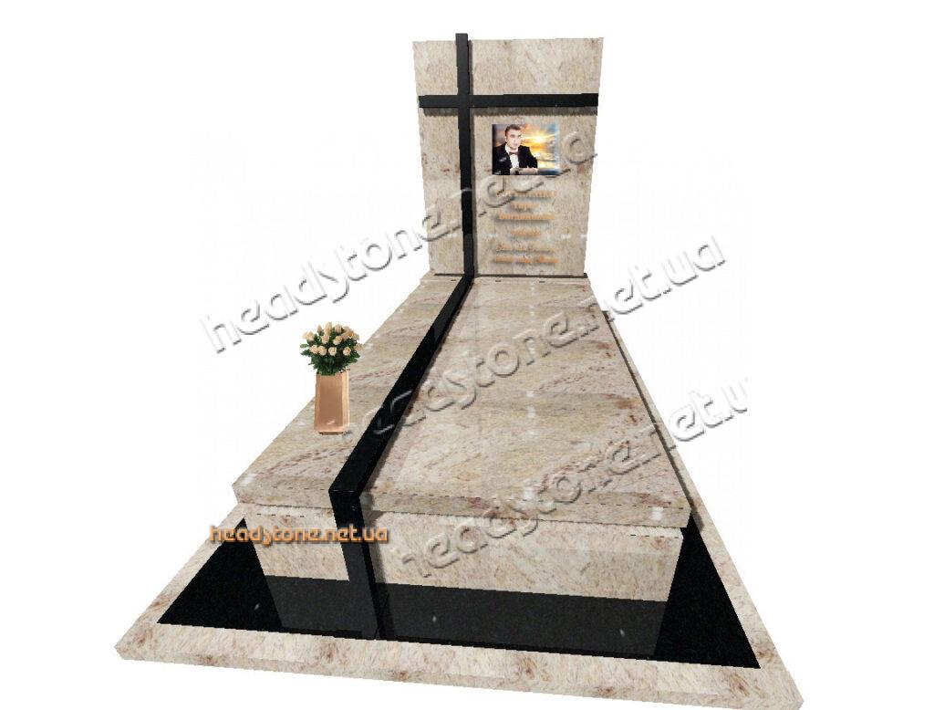ексклюзивні памятники з граніту в італійськомй дизайні, Каталог одинарних памятників Елітні памятники і надгробки з граніту, Італійські надгробні памятники, дизайн памятників гранітних