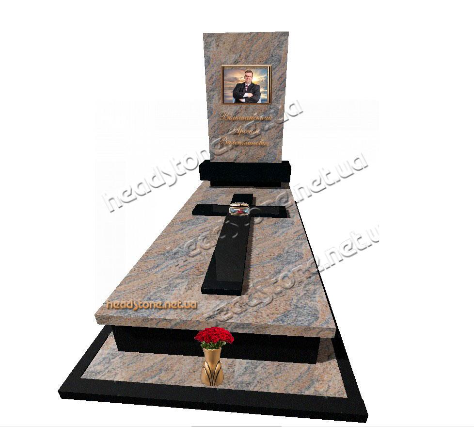Італійські памятники з граніту,одинарні памятники в італійському стилі ,елітний памятник,каталог памятників ,дизайн памятників гранітних,3d дизайн памятників